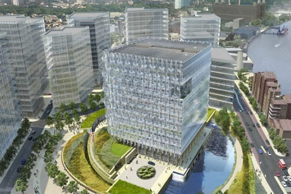 US Embassy In London Breaks Ground