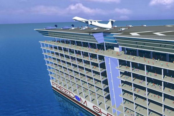 Freedom Ship: Construction to Start Soon on the World's First Floating City