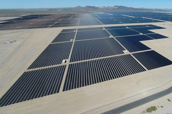 The World's Largest Solar-Panel Power Plant Opens In Arizona