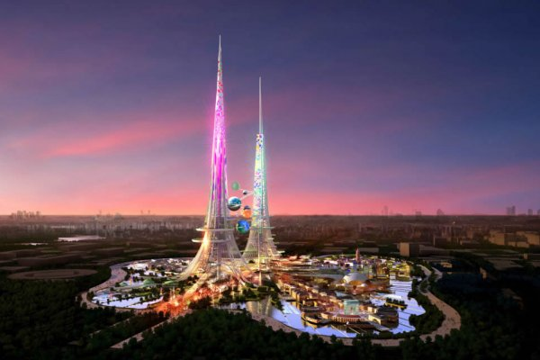 Phoenix Towers: World's Tallest Pair Of Skyscrapers Unveiled For Wuhan, China