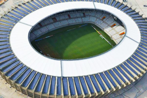 Brazil's Mineirao Is The First World Cup Stadium Completely Powered By The Sun