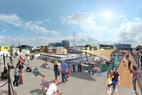 England's First Floating Village Coming Soon To East London