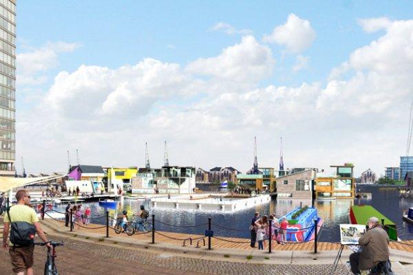 В Англии Появится Первый Городок На Воде