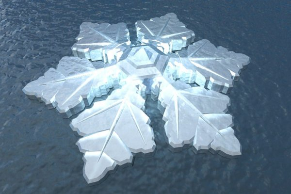 Snowflake-Shaped Floating Krystall Hotel To Sparkle Off The Coast Of Norway