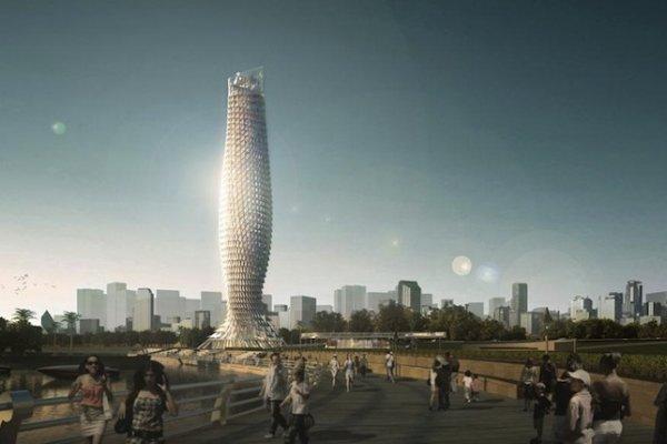 China To Build Fish-Inspired Skyscraper