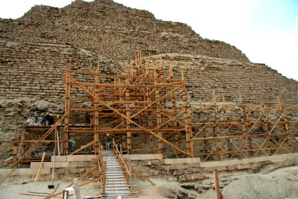 The Oldest Pyramid In Egypt Is Being Destroyed By Its Own Restoration Team