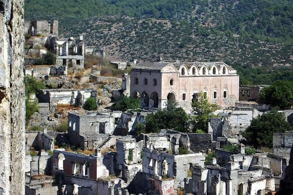 Ghost Town For Rent In Turkey