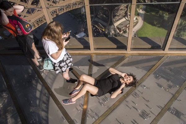 Eiffel Tower Gets Glass Floor In Paris