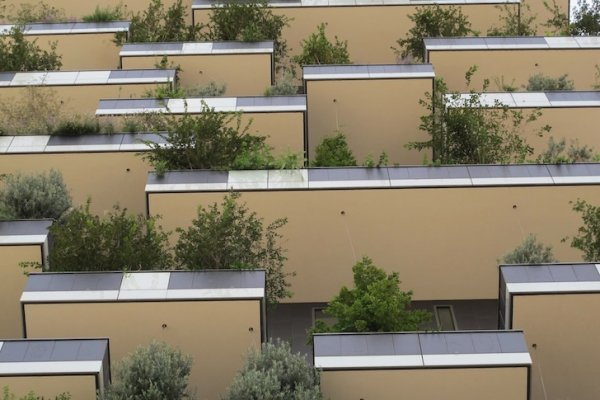 World's First Vertical Forest Is Finally Complete In Milan