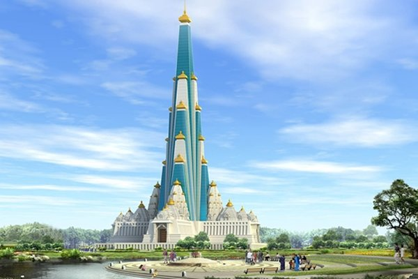 World's Tallest Temple To Be Build In India