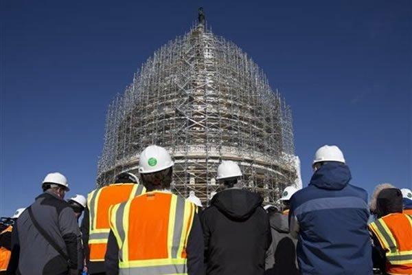 Capitol Dome Restoration Began In Washington