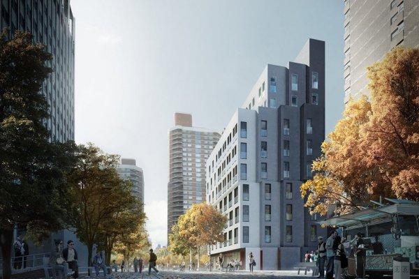Նյու Յորքում Կառուցվում Է Քաղաքի Առաջին Միկրոբնակարաններով Շենքը
