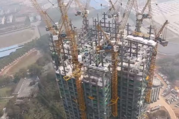 57-Floor Tower Just In 19 Days