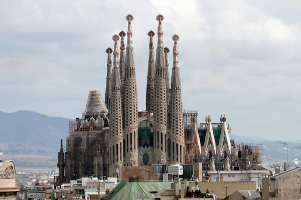 3D Printing To Help Finish Gaudi's Sagrada Familia