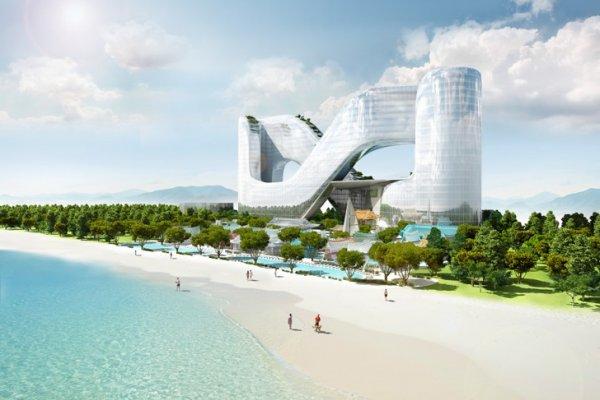 Հարավային Կորեայում Անվերջության Խորհրդանիշի Տեսքով Հյուրանոց Կկառուցվի
