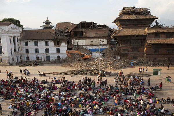 Earthquake Levels Nepal's Beautiful Historic Buildings
