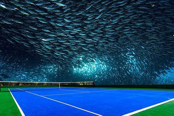 A Polish Architect Plans To Build An Underwater Tennis Court