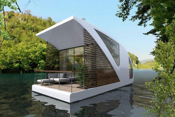 Լողացող Հյուրանոցը Հնարավորություն Կտա Հյուրերին Լողալ Զբոսանավ-Համարներով