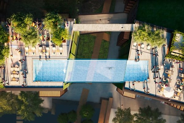 Glass-Bottomed Sky Pool Will Be Built In London