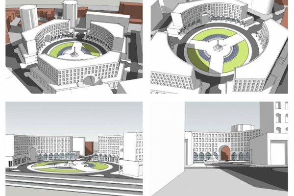 A New Round Square Planned for Yerevan