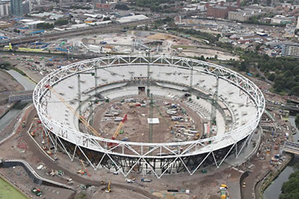 Work on London's Olympic Stadium Completed