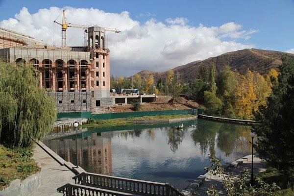 Hyatt Hotel in Jermuk Will Be Open In 2014