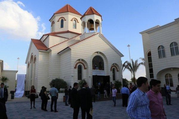The first Armenian Church in Abu-Dhabi