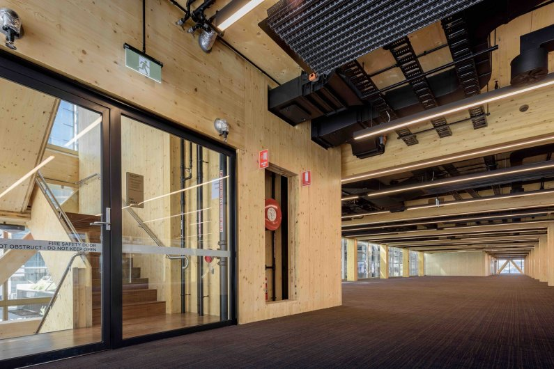 Australia's Largest Commercial Timber Building Completed in Sydney