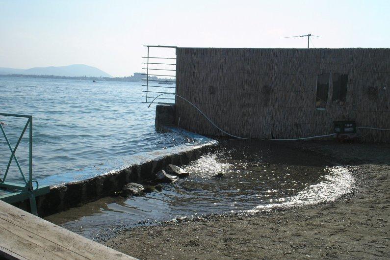 The coastal zone of Sevan peninsula today