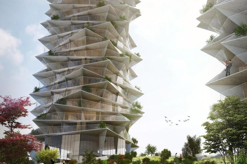 Cactus Twin Towers To Be Built In Copenhagen