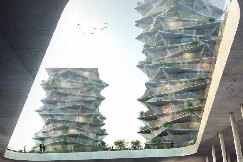 Cactus Twin Towers To Be Built In Copenhagen