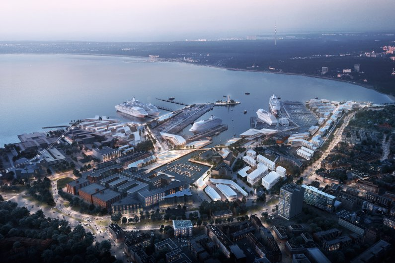 Zaha Hadid Architects Wins Tallinn Port Contest