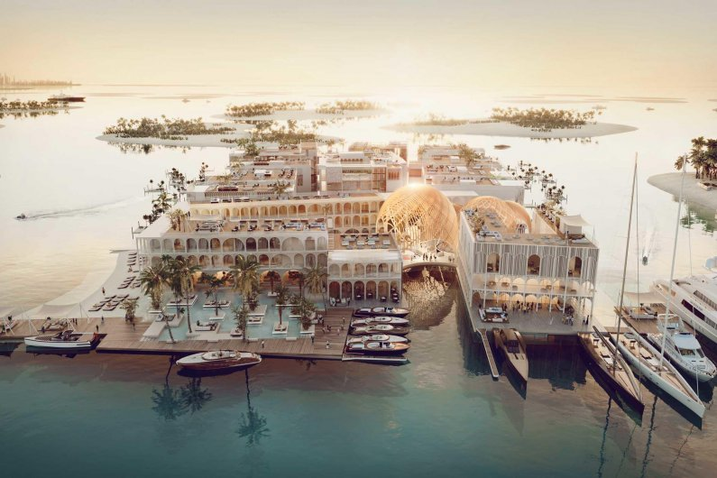 Dubai To Build Floating Venice