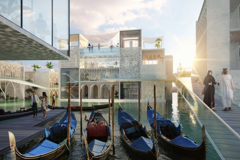 Dubai To Build Floating Venice
