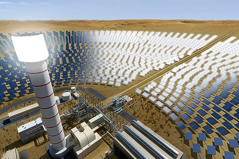 World's Tallest Solar Tower To Go Up In Dubai