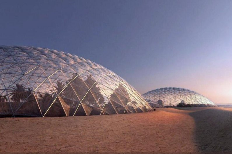UAE Unveils Plans For Massive City Simulating Human Settlement On Mars