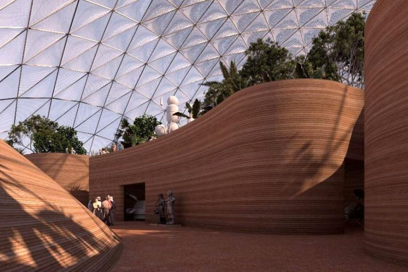 UAE Unveils Plans For Massive City Simulating Human Settlement On Mars