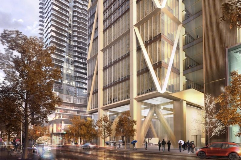 Canada's Tallest Inhabitable Building Breaks Ground In Toronto