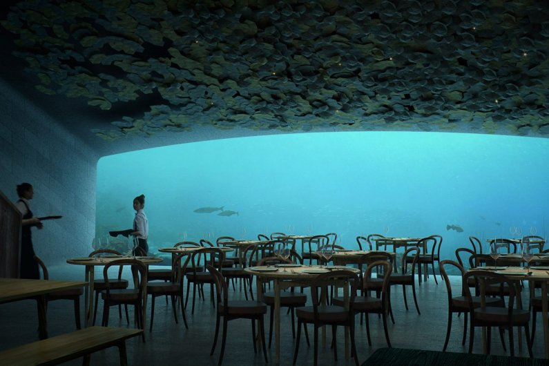 Europe's First Underwater Restaurant Will Be Built In Norway