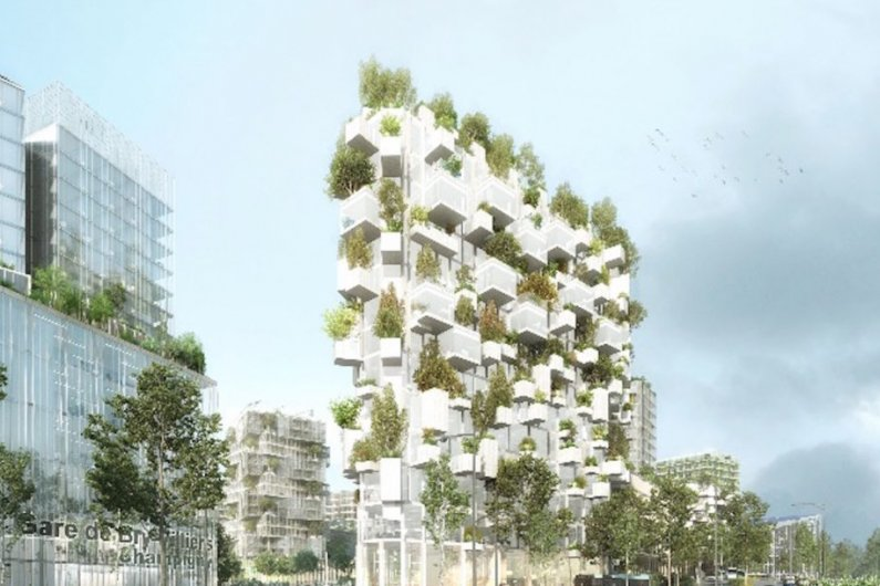 France To Build Its First Vertical Forest