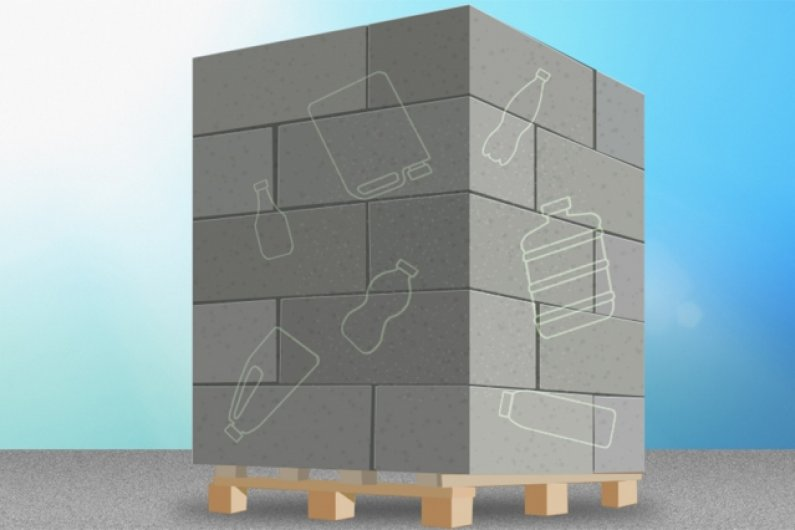 The Concrete Can Be Much Stronger With Plastic Bottles
