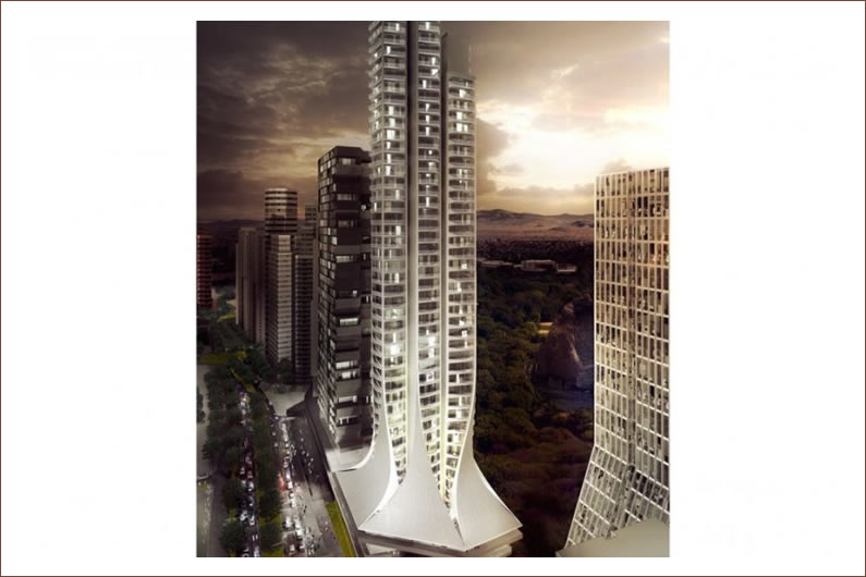 Bora Residential Tower in Mexico