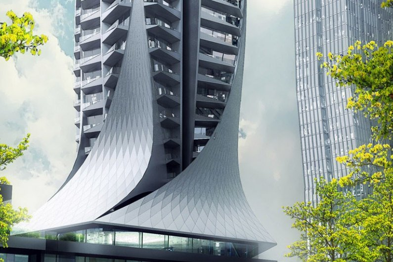 """Zaha Hadid Architects Begins Work on Mexico City's """"Highest Residential Tower"""""""