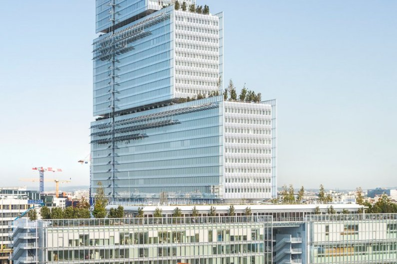 Construction On Europe's Largest Law Complex Completed