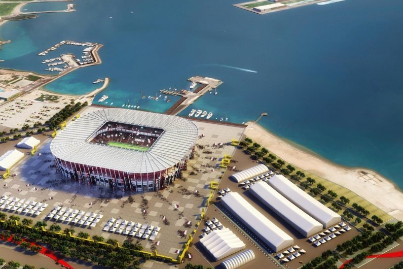 Qatar Planned To Build Fifa World Cup Stadium From Shipping Containers