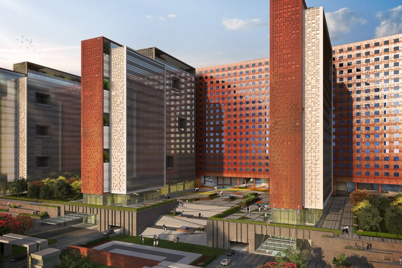 The Second Largest Office Building In The World To Be Built In India