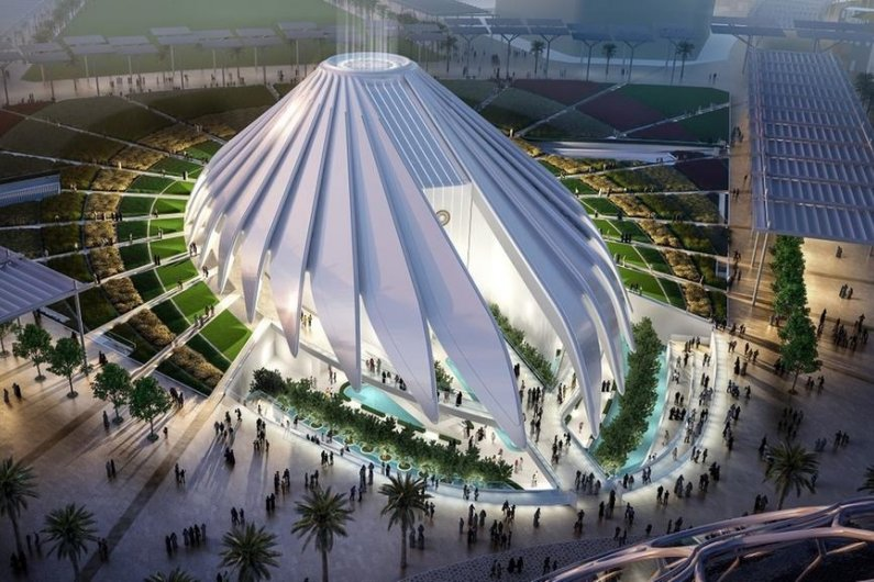 UAE's Expo 2020 Pavilion Will Have The Shape Of Flying Falcon
