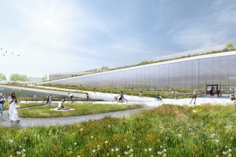 Google Plans New Green-Roofed Tech Campus In California
