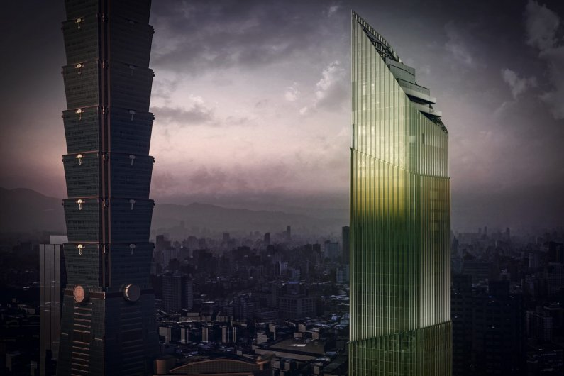 Taipei To Build Shimmering Bamboo – Shaped Skyscraper