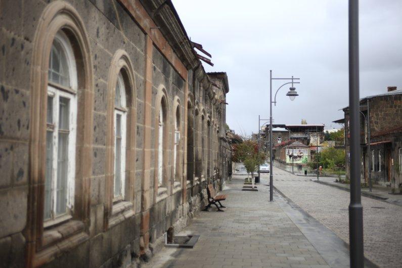Kumayri Historical Center Development Plan